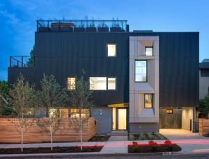 Seattle's first certified Passive House in Madison Park. -- Photo Credit: Seattle PI