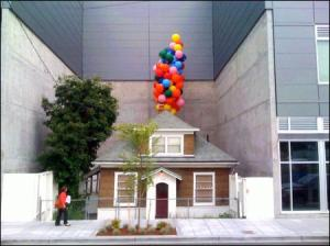 Edith Macefield's house became a legend in 2006 when she refused to sell her property to developers. (Photo Credit: Seattle PI)